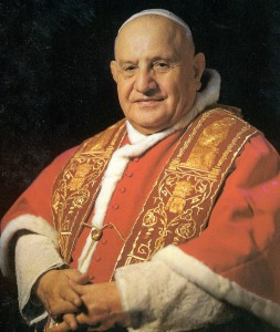 Pope John XXIII was elected pope in October 1958.